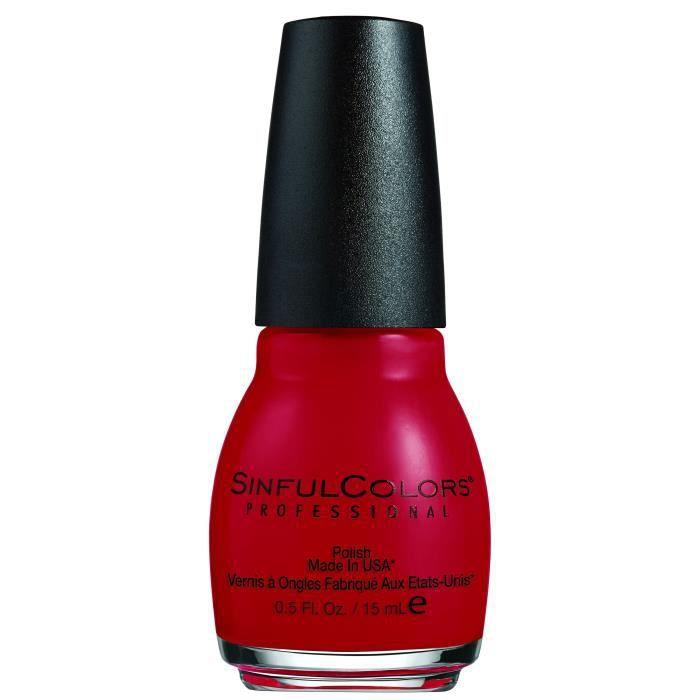 SINFUL Vernis à ongles n° 369 Ruby Ruby - 15 ml
