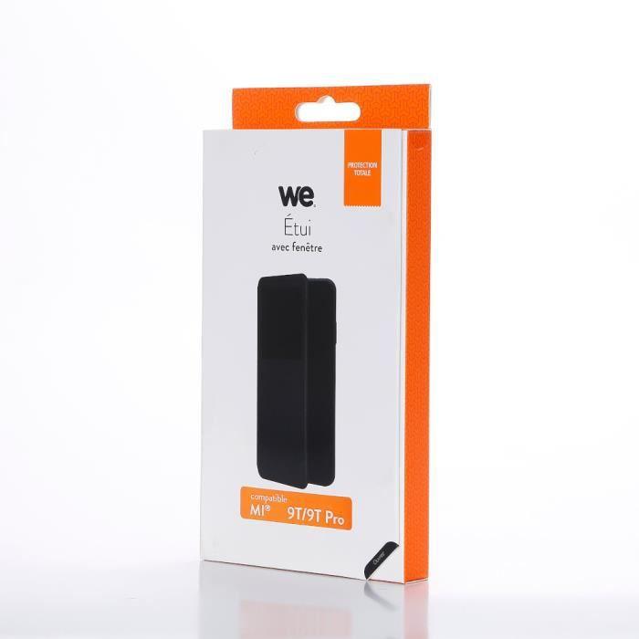 WEEtui de protection WE noir pour smartphone XIAOMI MI 9T PRO Résistant aux chocs et chûtes. Accès caméra et multi-position.