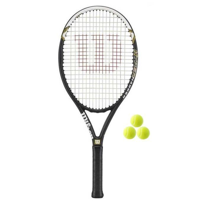 Wilson Hyper Hammer 5.3 Raquette de tennis + 3 balles L3