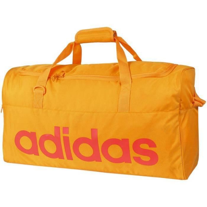 Adidas Linear Performance Teambag Sac de Sport Orange M AJ9925 ... b02e7d42e42c
