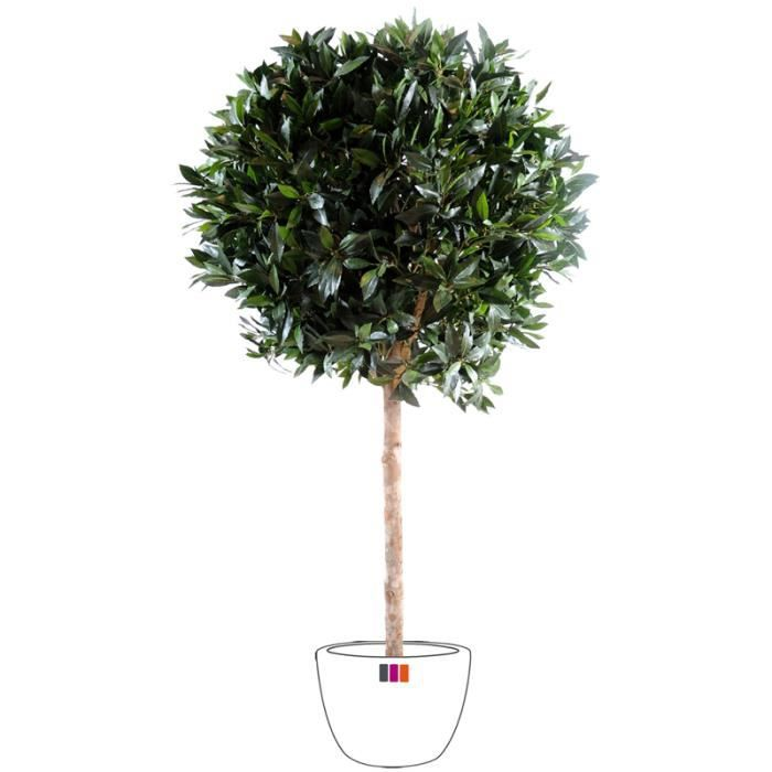 Laurier boule luxe 1m80 arbre artificiel ext rieur achat for Arbre artificiel exterieur