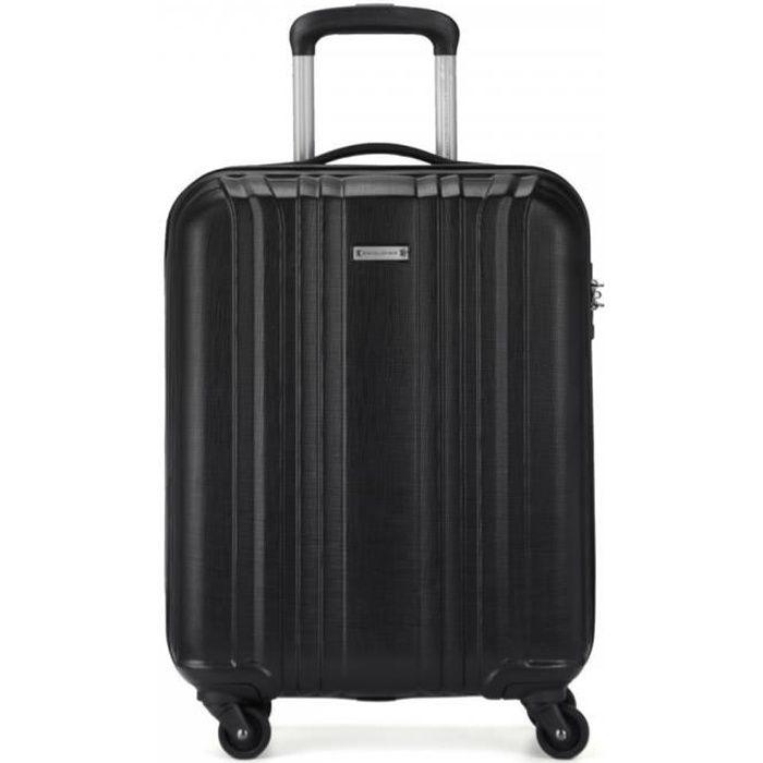 Bagage /à main 55x40x20 cm pour toutes les compagnies a/ériennes CX Coffre /à bagages cabine extensible ABS avec 4 roues