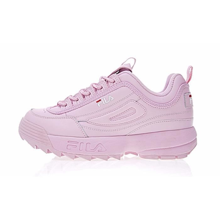 Chaussures Baskets 2 Disruptor Femme Décontractées Fila Ii Rose HwH17q