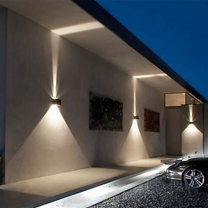 APPLIQUE  Applique murale d'extérieur IP65 12W ajustable car