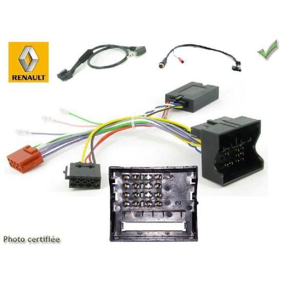 JVC Radio Volant Interface Adaptateur Pour Renault Megane Clio Twingo Opel Vivaro