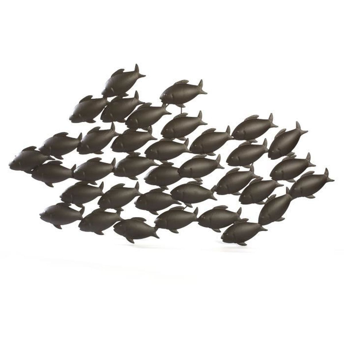 Sea d coration murale poissons en m tal achat vente for Decoration murale en metal noir