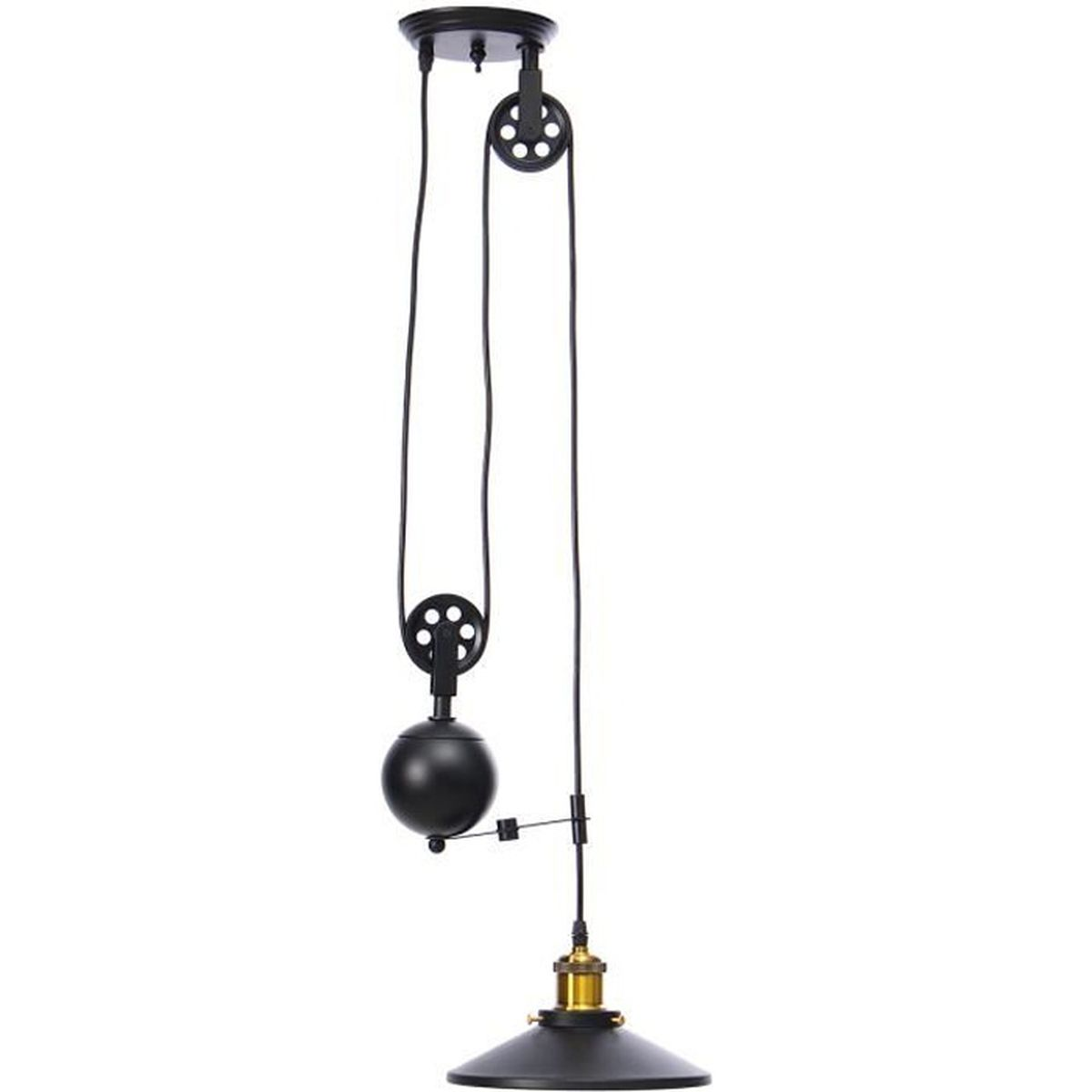 lampe suspension reglable achat vente lampe suspension. Black Bedroom Furniture Sets. Home Design Ideas