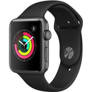 MONTRE CONNECTÉE APPLE Watch Series 3 GPS - Boîtier 42 mm Gris sidé
