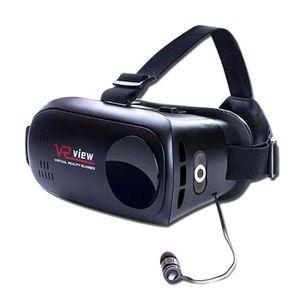 CASQUE RÉALITÉ VIRTUELLE Lunette 3D VR Casque de Réalité Virtuelle Avec Eco