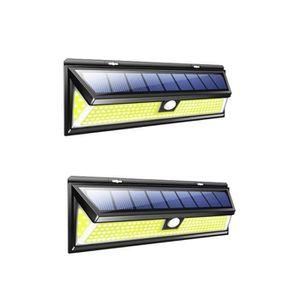 ÉCLAIRAGE INTÉRIEUR ECLAIRAGE INTERIEUR Lampe de mur solaire de capteu