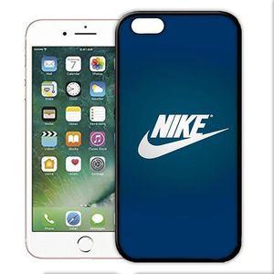 coque iphone 5 5s nike bleu