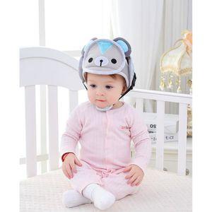 CASQUE ENFANT Ours-Casque Bébé Anti-Chute, Bonnet Bébé de Sécuri