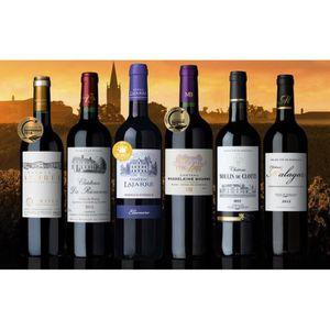 VIN ROUGE Carton Composé Bordeaux Collection - 6bt vin rouge
