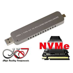 CARTE CONTROLEUR KALEA INFORMATIQUE Boitier Aluminium clé USB 3.1 p