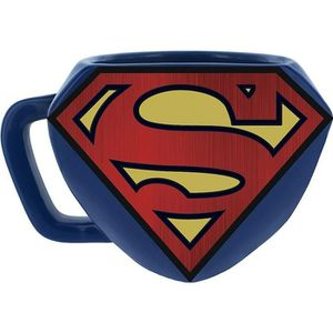 BOL - MUG - MAZAGRAN Mug 3D DC Comics - Superman: Logo Superman