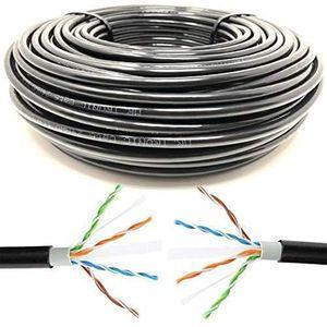 5 M/ètres UTP Mr RJ45 CAT5E Tronic C/âble de R/éseau Ethernet CCA AWG24 Color Gris