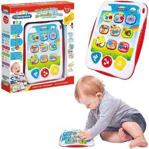JEU D'APPRENTISSAGE jeu apprentissage bébé Clementoni Ma première tabl