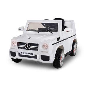 VOITURE ELECTRIQUE ENFANT Voiture électrique pour enfant 4x4 Mercedes G63 AM