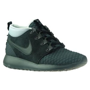 watch eb711 df495 BASKET NIKE Roshe Run Sneaker Boot Hommes Baskets Noir 61