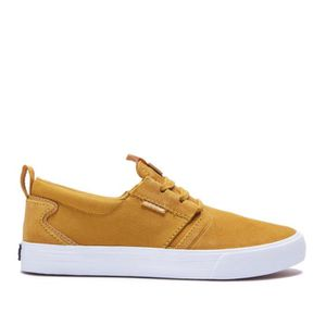 BASKET Chaussures SUPRA FLOW Amber gold white