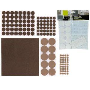 Rond protection feutre tampons bois plancher laminé meubles 13mm