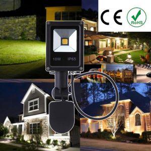AMPOULE - LED 10W LED Lumière d'inondation 85~265V PIR Motion Ca