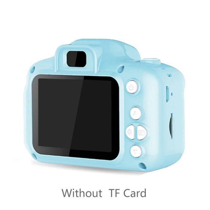 Appareil photo enfant appareil photo numérique pour enfant 1080P HD 8MP cadeau enfant Bleu