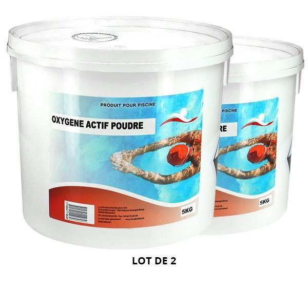 Oxygène actif poudre - 2x5kg