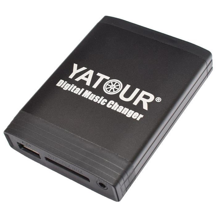 Kits Bluetooth Yatour YT-M06-VOLHU-BT Adaptateur USB MP3 AUX SD CD Bluetooth kit mains libres Volvo HU Serie S40 V40 S60 32272