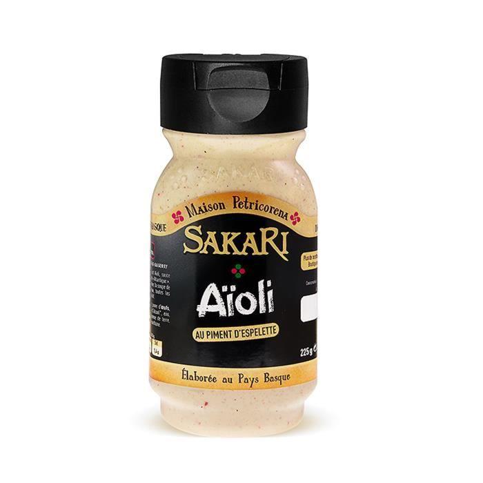 Sauce Aioli au piment d'Espelette Sakari 225g