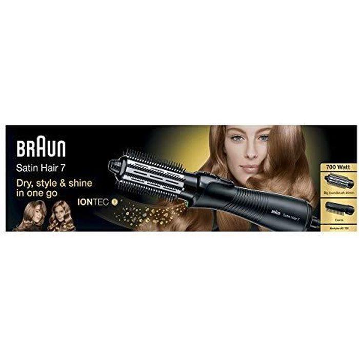 Braun Satin Hair 7 IONTEC AS720 Brosse Soufflante avec Technologie Ionique