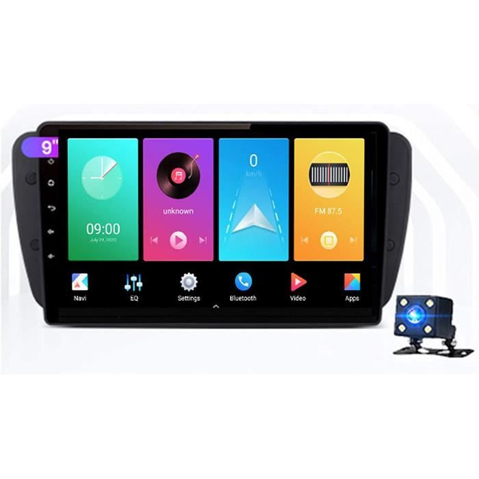AUTORADIO Yuahwyehe Android 10 Autoradio Steacutereacuteo Ecran De Autoradio De Voiture Radio pour Seat Ibiza 6j 20092013 Support156