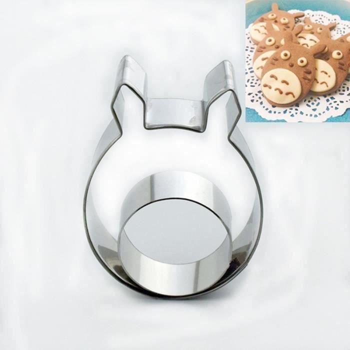 Moule De Gâteaux Biscuits Chocolat Mon voisin Totoro Moule en Acier Inoxydable Outil de Cuisson Ustensile de Cuisine QUI23865