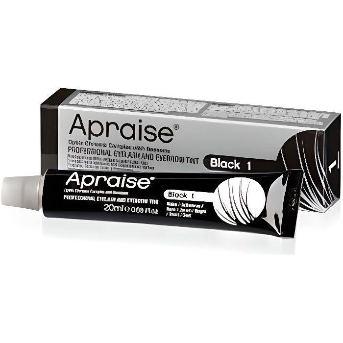 Teinture noire barbe et cils, tube 20 ml