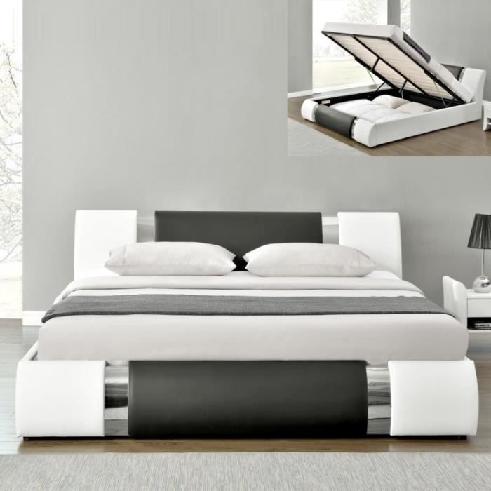 Lit coffre design ATLANTIC - 160x200