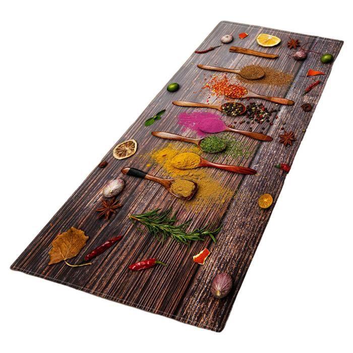 Tapis de cuisine confort tapis de sol rembourré évier de maison entrée couloir tapis chambre décor long tapis B 60x180cm