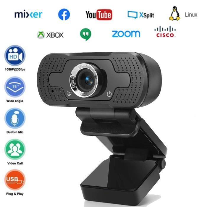 Webcam 1080P Full HD compatible windows 10