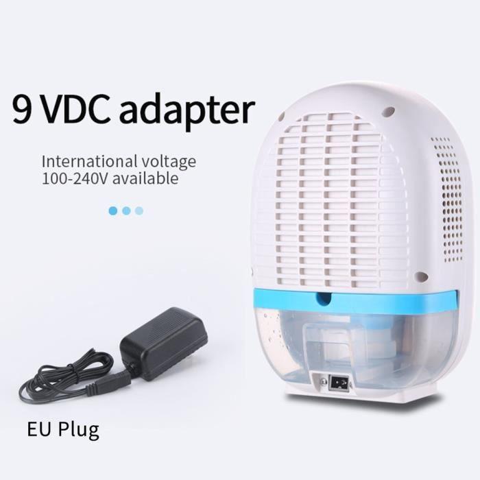 Mini déshumidificateur purificateur d'air à absorbeur d'humidité - bleu