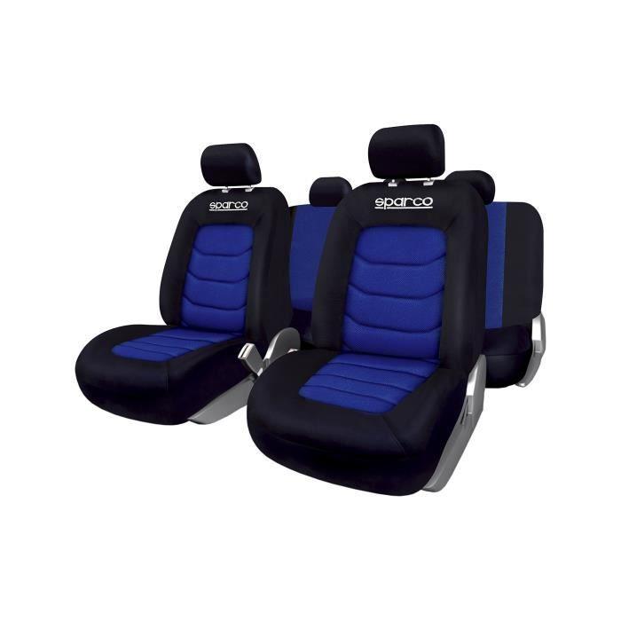 SPARCO SP 91117 Housse de Sièges, Bleu