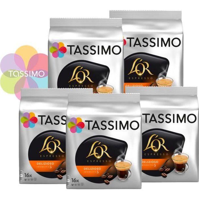 Tassimo L'Or Espresso Delizioso N°5 - 80 capsules