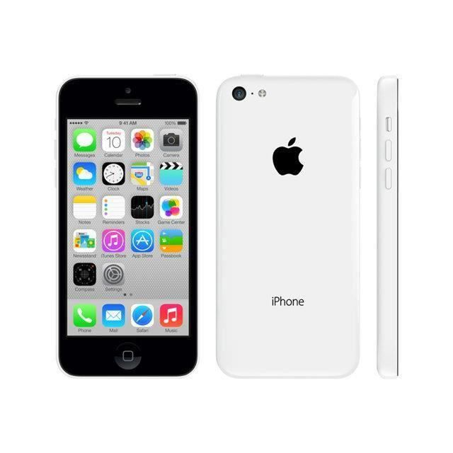 apple iphone 5c 8 go blanc achat smartphone recond pas. Black Bedroom Furniture Sets. Home Design Ideas