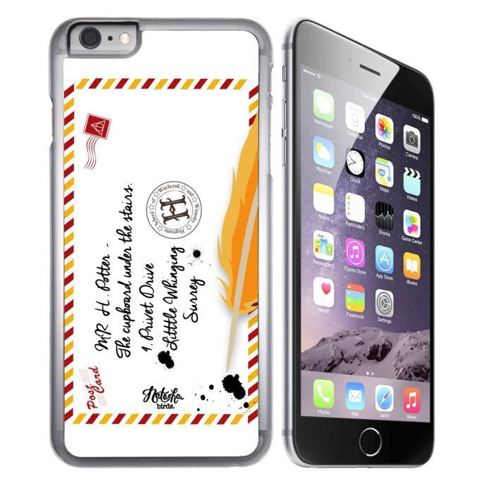 coque iphone 8 harry potter transparente