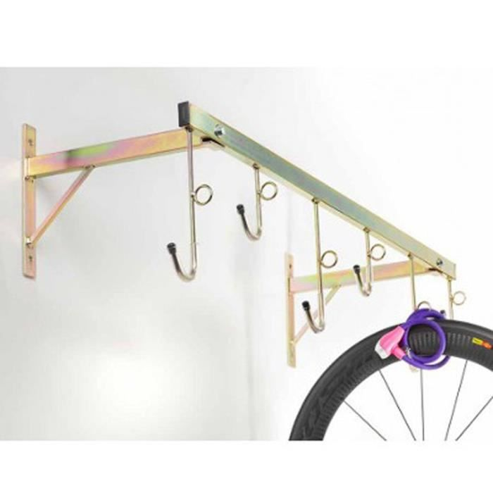 Support mural pour velo achat vente pas cher soldes - Support mural pas cher ...