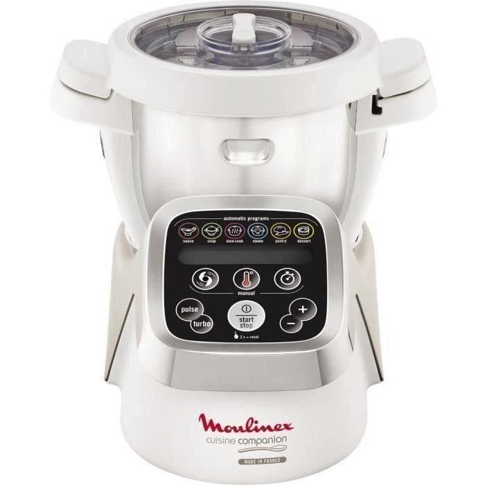 MOULINEX HF800A10 Robot cuiseur Companion - 4,5 L - Blanc