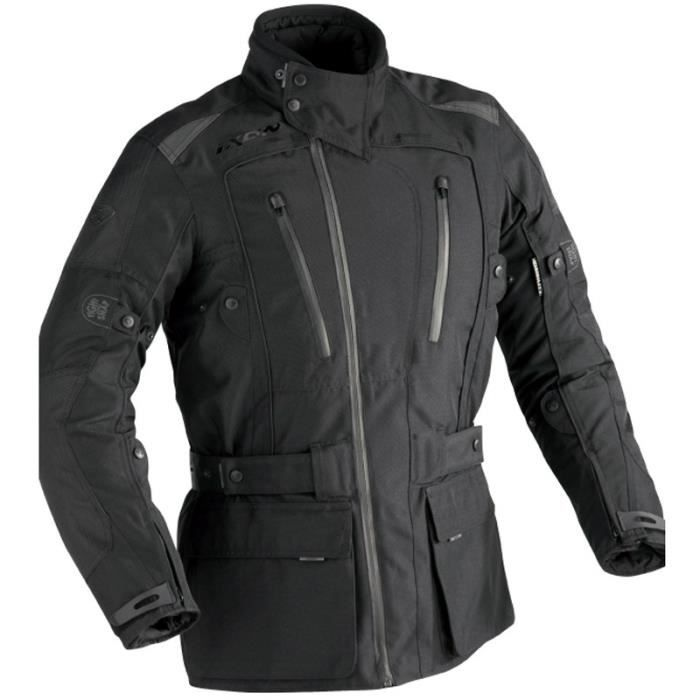 veste moto ixon tundra vx noir achat vente veste cdiscount. Black Bedroom Furniture Sets. Home Design Ideas
