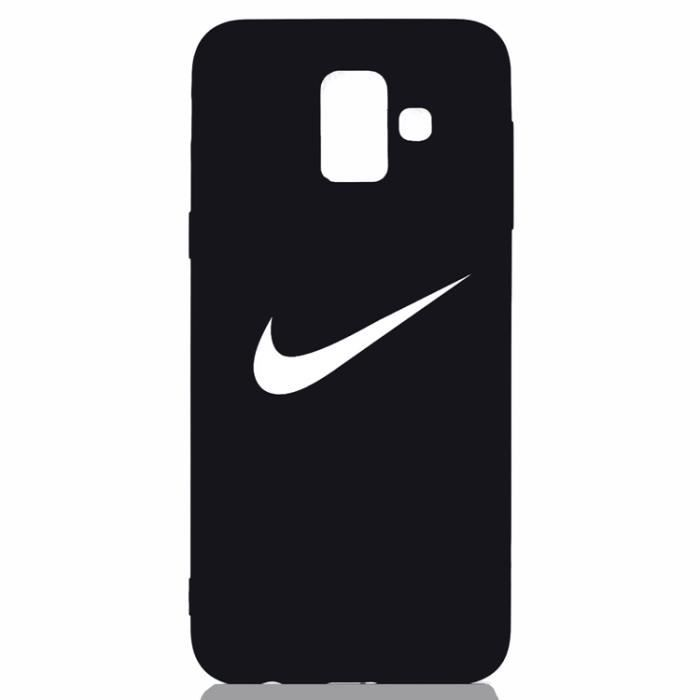 100% top quality vast selection great prices Coque Samsung Galaxy A8 2018,NIKE Noir Coque Bumper Housse Etui pour  Samsung Galaxy A8 2018
