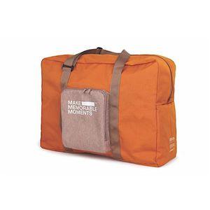 SAC DE VOYAGE Sac de voyage 43 L - 55 x 40 x 20 cm - Orange