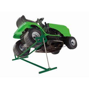 CRIC Lève tracteur - quad pliable 400 Kg ; H: 12 à 79 c