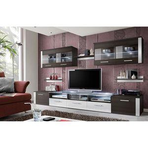 MEUBLE TV MURAL Meuble de salon, meuble TV design complet FOCUS we