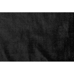 TISSU Tissu Velours Extensible Noir -Au Mètre